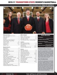 2010-11 youngstown state women's basketball - ysupenguins.com
