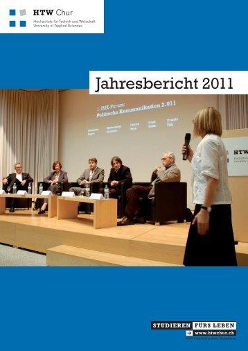 Jahresbericht 2011 - HTW Chur