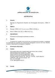 JUSTIFICATIVA - Anac