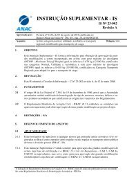 INSTRUÇÃO SUPLEMENTAR - IS - Anac