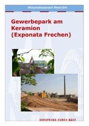Exponata Frechen - Wirtschaftsförderung Rhein-Erft GmbH