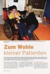 |; Kranke Kinder brauchen optimale Pflege, besondere ... - Verein MPS