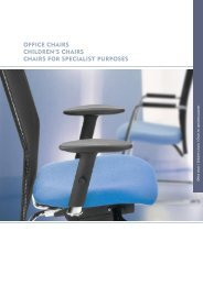 office chairs children's chairs chairs for specialist ... - Kreuzer GmbH