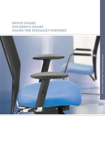 psi bella 4pp a4 brochure office chairs
