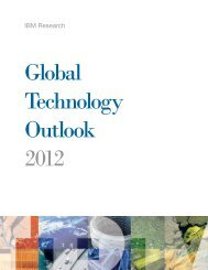 Global Technology Outlook 2012 - IBM Zurich Research Laboratory