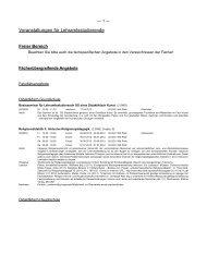 Veranstaltungen für Lehramtstudierende - Universität Würzburg