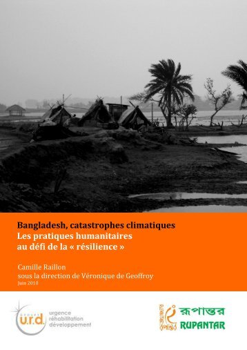 Bangladesh, catastrophes climatiques - Groupe URD