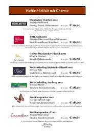 Unsere Weinkarte zum Download - Fasching