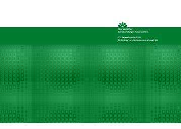73. Jahresbericht 2011 als PDF - TGF Gemeinnütziger Frauenverein ...