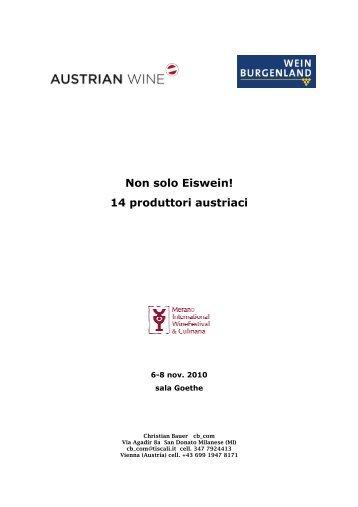 scarica la presentazione delle aziende presenti a Merano - Wine Blog