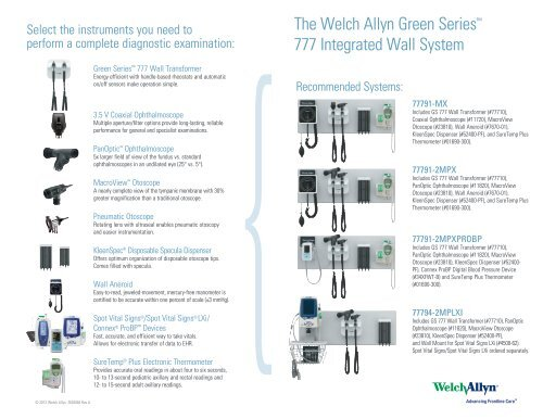 Gs 777 Quick Guide Welch Allyn