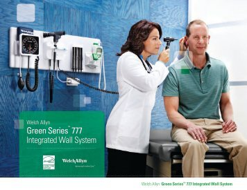 Green Series™ 777 Integrated Wall System - Welch Allyn
