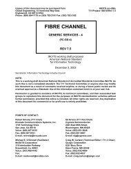 Fibre Channel - Generic Services 4 (FC-GS-4) - T11