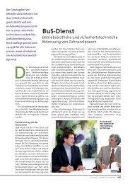 BuS-Dienst - Zahnärztekammer Niedersachsen