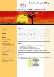Download Info-Blatt KYLA in Wels und Anmeldeformular - Yoga ...