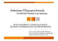 Norbert Gittler-Hebestreit - Ambulante Pflegesprechstunde - VPU