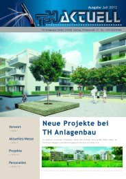Ausgabe Juli 2012 - TH-Anlagenbau