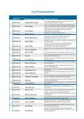 List of Oral & Poster Presentations - THERMAG V - Grenoble 2012 - Page 4