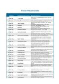 List of Oral & Poster Presentations - THERMAG V - Grenoble 2012 - Page 7