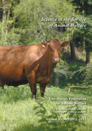 2011-2012 Annual Report - Universities Federation for Animal Welfare