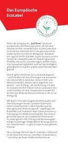 Ausgezeichnet Leben - Das Österreichische Umweltzeichen - Seite 6