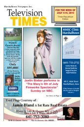 0704 TV Times-Mtown - Times Republican