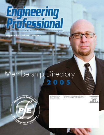 forwarding service requested - Wisconsin Society of Professional ...