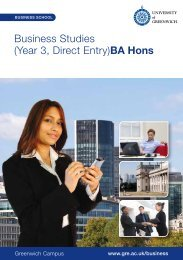 Business Studies BA Hons 3rd year direct entry - Geebee Updates