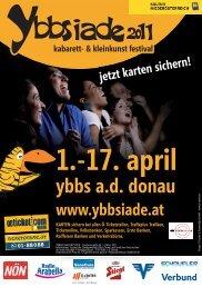 1.-17. april - Ybbsiade