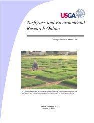 Broadening the Horizons of Turf Bermudagrass - Turfgrass and ...