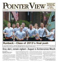 Stay alert, remain vigilant—August is Antiterrorism Month - West Point