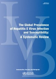 The Global Prevalence of Hepatitis E Virus Infection - libdoc.who.int ...