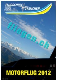 Kursprogramm 2012 mf - Flugschule Grenchen