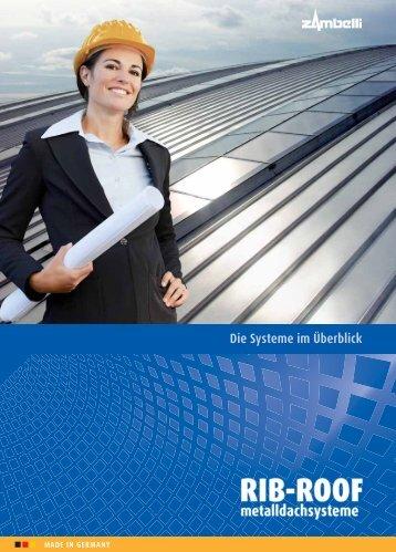 die systeme im überblick rib-roof 465 - Zambelli GmbH & Co. KG
