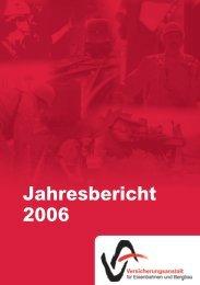 Jahresbericht 2006 - VAEB