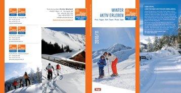 winter AKtiV erLeBen - Tiroler Oberland