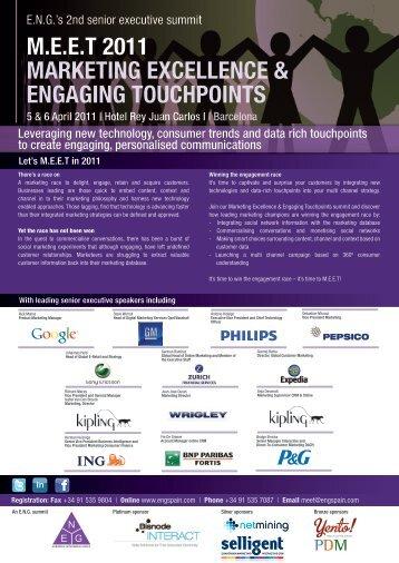 E.N.G. Brochure Pitch - European Networking Group