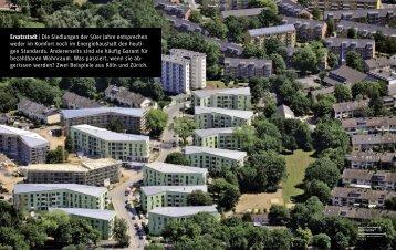 Ersatzstadt | Die Siedlungen der 50er Jahre entsprechen ... - ASTOC