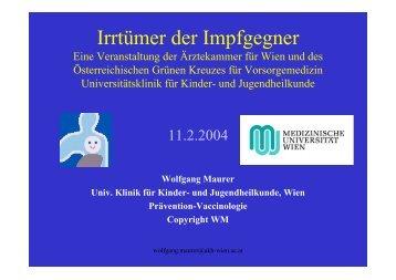 Irrtümer der Impfgegner (PDF 952KB) - Impfinformationen.de