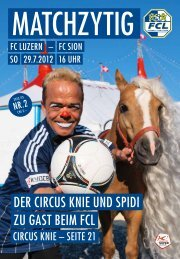 Reka – das Freizeitgeld. - FC Luzern