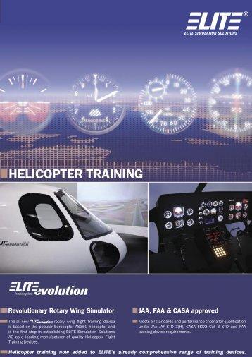 HELICOPTER TRAINING - Elite Simulation