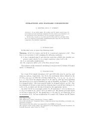SUBLATTICES AND STANDARD CONGRUENCES 1. Introduction ...