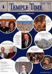 07 July TT 2010 - Temple Beth Israel