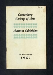 Canterbury Society of Arts Autumn Exhibition - Christchurch Art ...