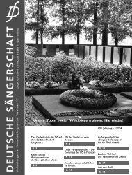 2004/2 - Deutsche Sängerschaft