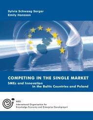 COMPETING IN THE SINGLE MARKET SMEs - Erhvervsstyrelsen