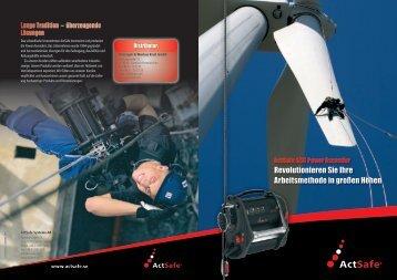 ActSafe Flyer ACC II Power Ascender PDF herunterladen - Krah.com