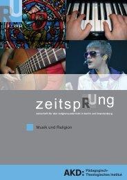 2/12 Musik und Religion - Amt für kirchliche Dienste