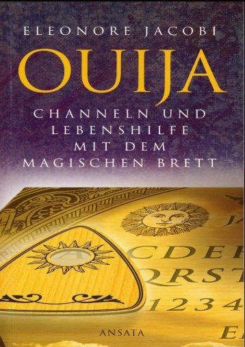 Eleonore Jacobi — Ouija Channeln und ... - Deutscher Klub