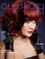 Goth! meanwhile back in the jungle . . . Festivities - Auxiliary Magazine